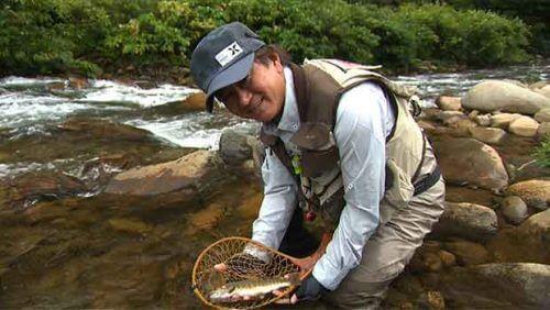 この画像は、サイトの記事「『釣り百景 トラウト』 ネットで話題 YouTube公式動画ご紹介!」のイメージ写真画像として利用しています。
